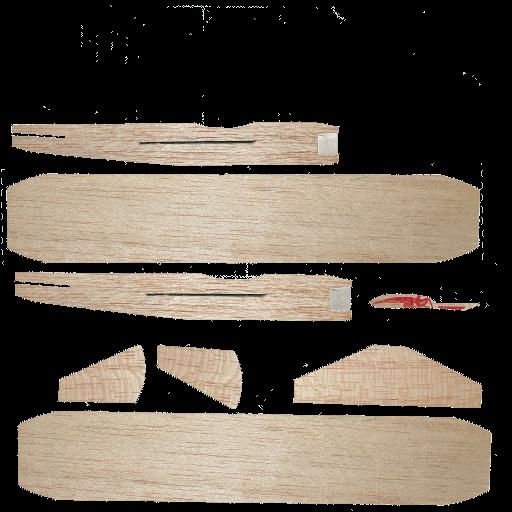 Balsa Wood Plane – 3d web viewer » funkboxing