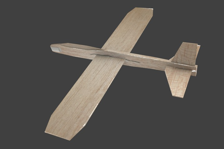Balsa Wood Plane Gliders